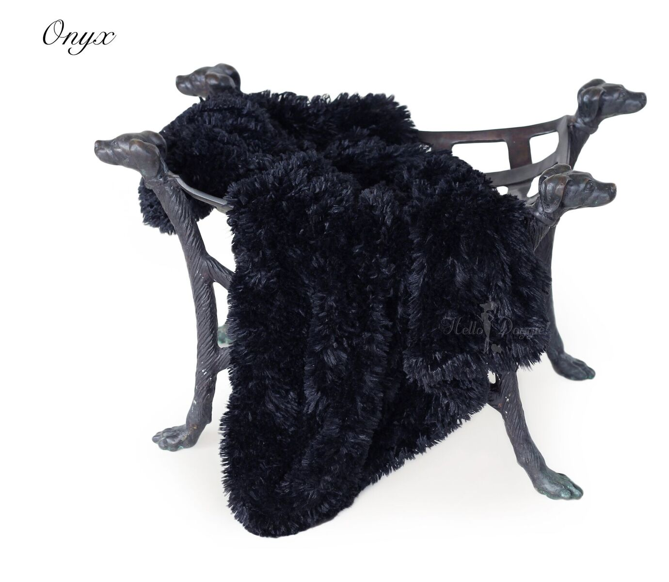 Shag blanket Onyx
