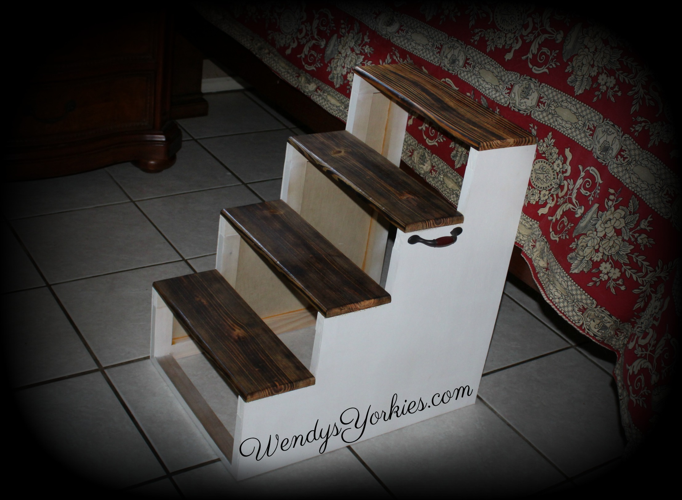 Custom Dog steps, WendysYorkies.com