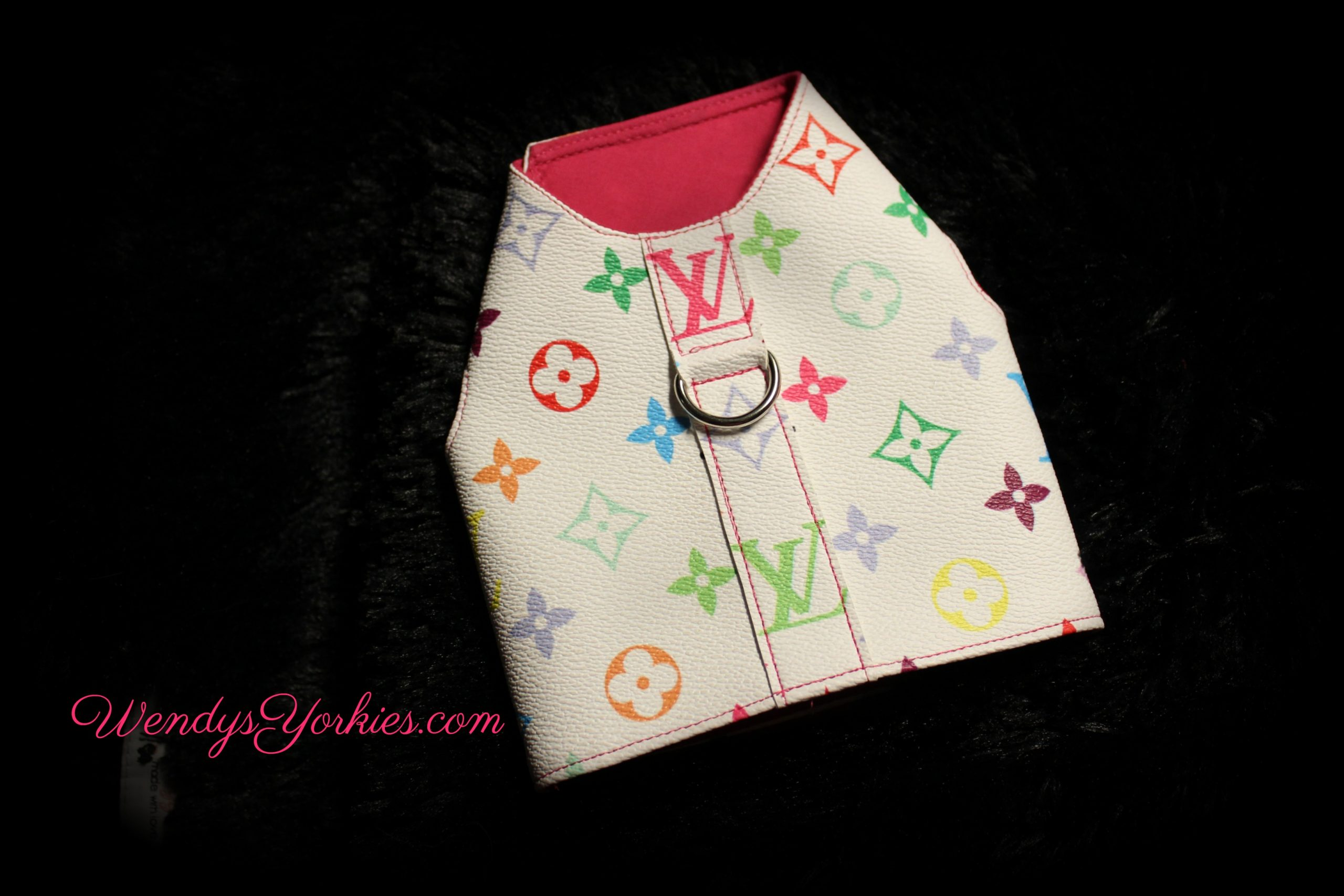 Designer Dog harness, WendysYorkies.com